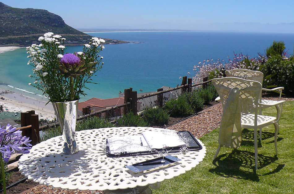 Wedding Venue overlooking Fish Hoek Beach